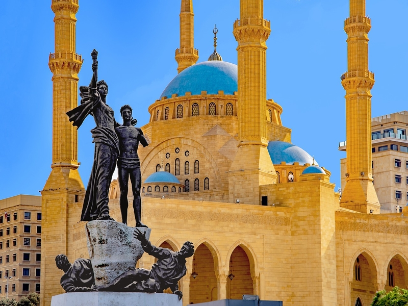 US$253 – Cheap flights to Beirut from Madrid (Aegean Airlines)