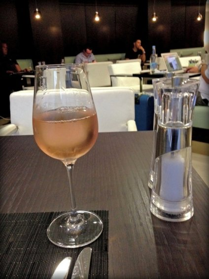 Etihad Business Class Lounge London (LHR) Review