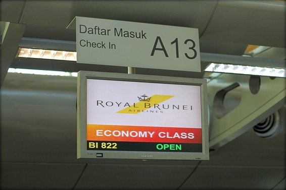Royal Brunei Airlines Review