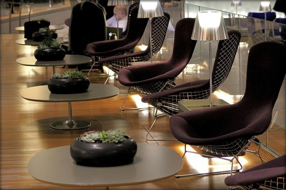 Qatar Business Class Lounge Al Mourjan Review Doha Airport