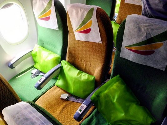 Ethiopian Airlines Economy Class Review