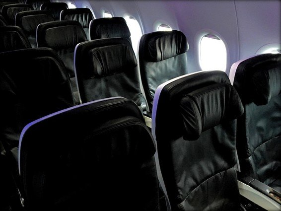 Virgin America Review (Economy) San Francisco (SFO) to Honolulu (HNL)
