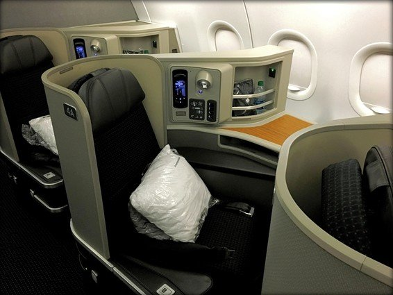 American Airlines First Class Domestic