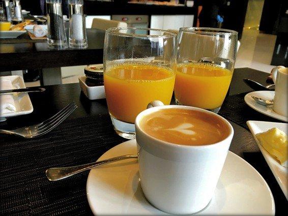 Etihad Business Class Lounge Dublin Review