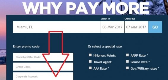 Can Hilton Corporate Rates really save you money on your hotel booking?