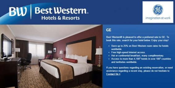 Best Western Corporate Rates