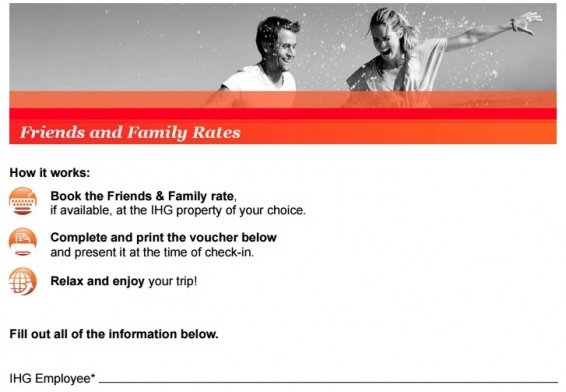 Do IHG Friends and Family Rates always save you money on your hotel booking?
