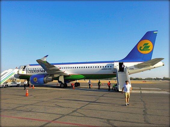 Uzbekistan Airways Economy Review Tashkent to Samarkand A320