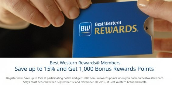 The Search for Best Western Friends and Family Rates and the current Best Western promotions