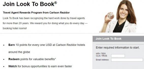 Carlson Travel Agent Rates