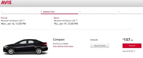 How much can an Avis Discount Code save you?