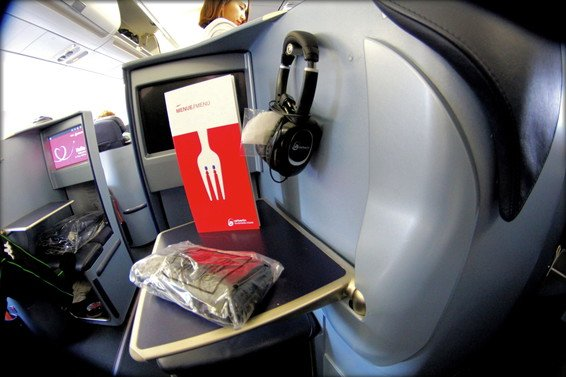 Air Berlin Business Class Review Los Angeles (LAX) to Dusseldorf (DUS) A330