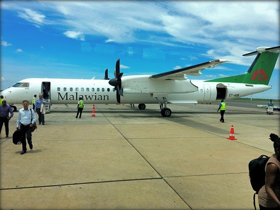Malawian Airlines Economy Review Blantyre to Lilongwe, Malawi and on to Lusaka, Zambia