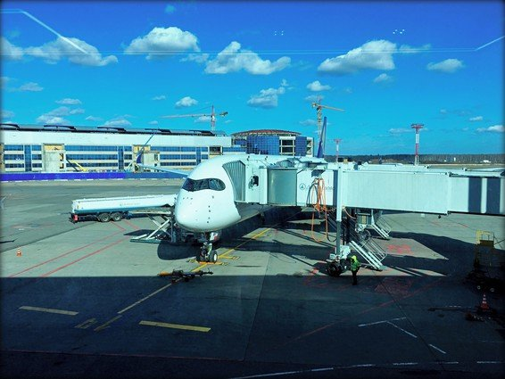 Singapore Airlines Business Class Review Moscow (DME) to Singapore (SIN) SQ361 A350