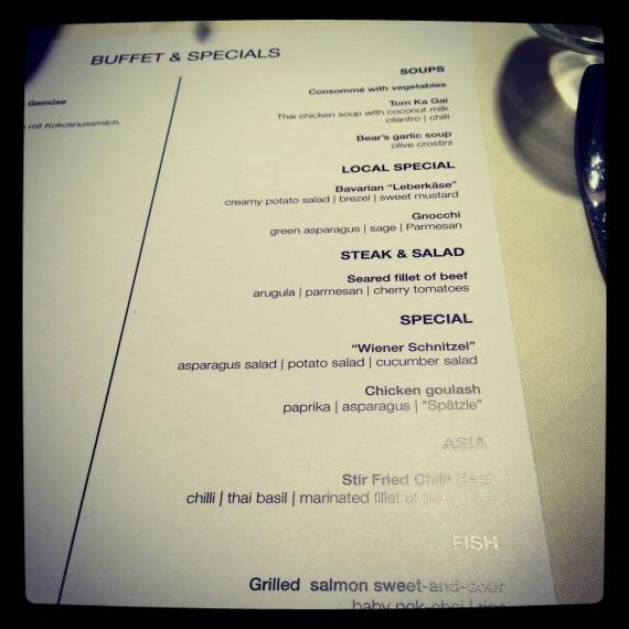 fct menu