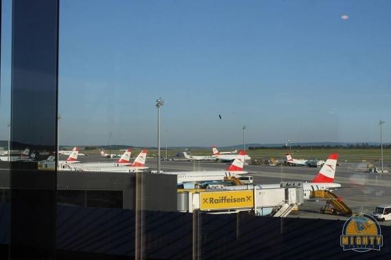 Austrian Airlines Senator Lounge Vienna Airport
