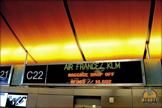 Air France Los Angeles (LAX) to Paris (CDG) Review in Economy Class AF65