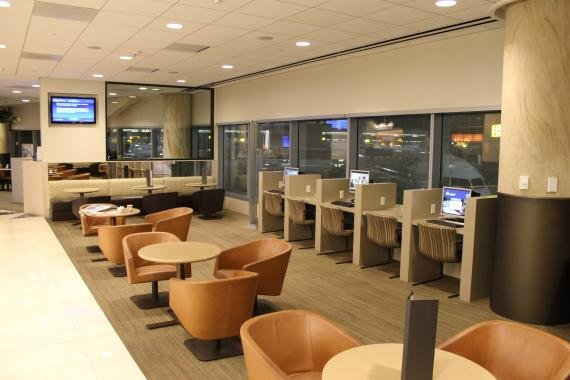Review: Admirals Club San Francisco, CA (SFO)