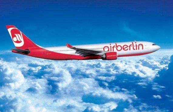 Double topbonus award miles on airberlin Business Class flights