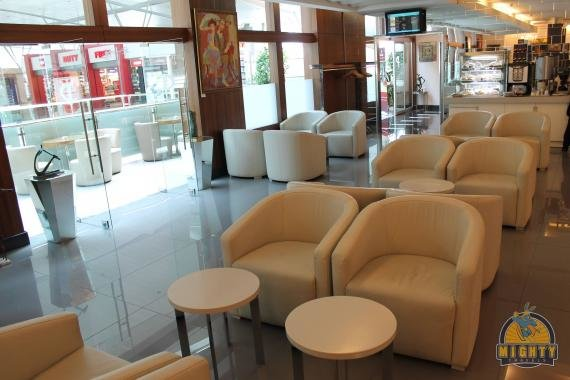 CIP primeclass Business Lounge Tbilisi (TBS) Airport Review
