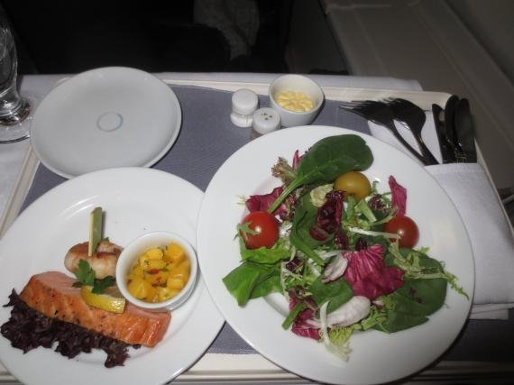 United Business Class Review London, UK (LHR) to San Francisco, CA