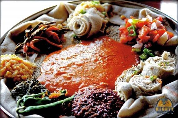 Great Ethiopian cuisine at Yeshi Buna, Addis Ababa
