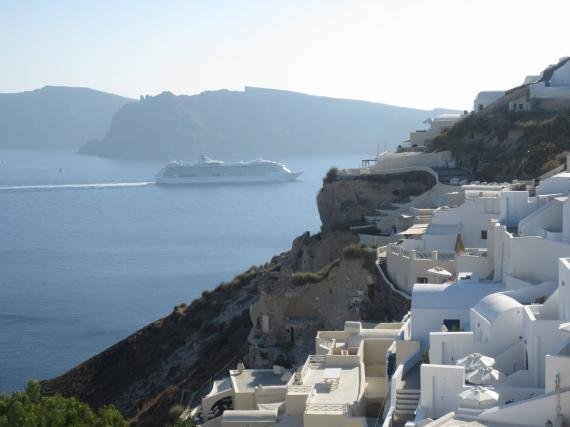 So I was at Mystique, Santorini and I wasn't too impressed…
