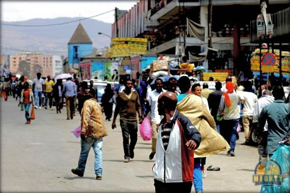 Why see the Addis Mercato in Addis Ababa? Or how to not get scammed in Addis…