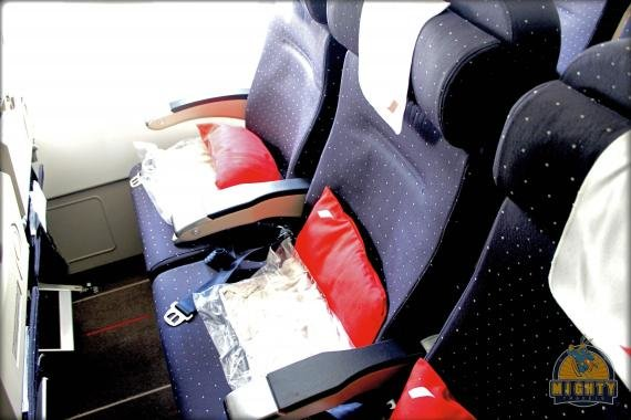 Air France Economy Class Review AF65 – the second flight