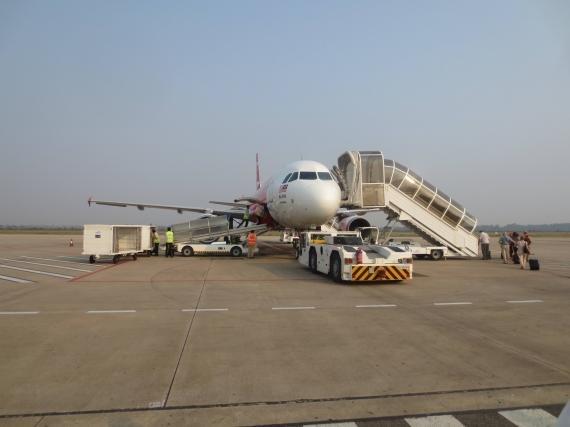 Air Asia Siem Reap, Cambodia (REP) to Kuala Lumpur, Malaysia (KUL) Review