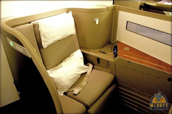 Cathay Pacific First Class Review Hong Kong (HKG) to San Francisco (SFO) CX 872