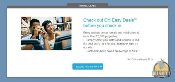 citieasydeals.com – The deal site for Citi cardholders