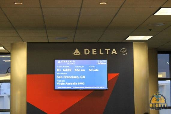 Delta West Coast Shuttle Los Angeles (LAX) to San Francisco (SFO) Review