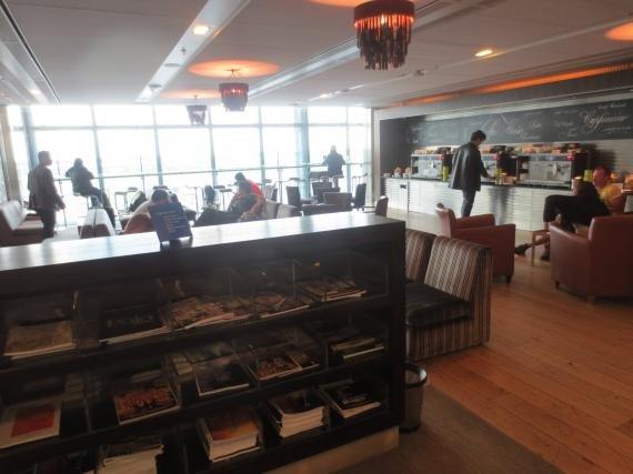 British Airways 'Galleries' Business Class lounge London Heathrow Terminal 5