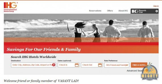 IHG Friends and Family Rate – Is it worth using?
