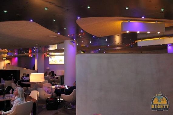 Aeroflot Business Class Lounge Sheremetyevo Review (Jazz Lounge)