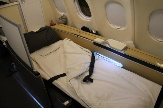 Review: Lufthansa First Class Dallas to Frankfurt LH438