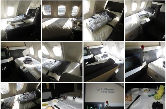 Review: Lufthansa First Class Boston to Frankfurt, New First Class 747-400