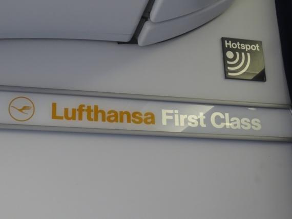 Lufthansa First Class Washington, D.C. (IAD) to Frankfurt, Germany (FRA) Review