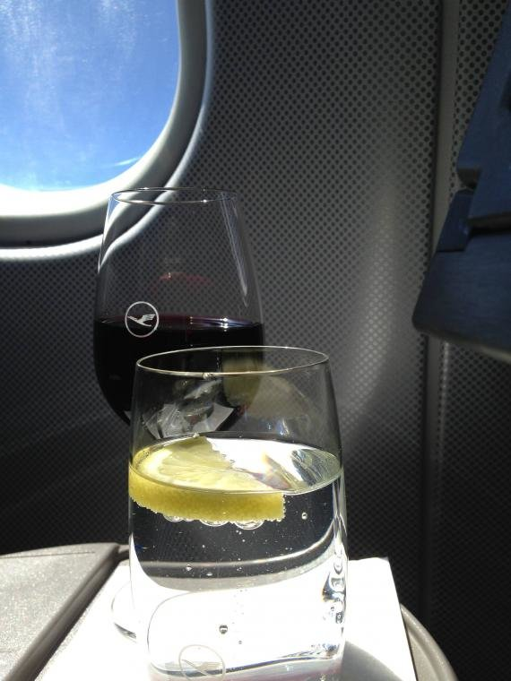 Lufthansa First Class Frankfurt (FRA) to Vancouver (YVR) Review