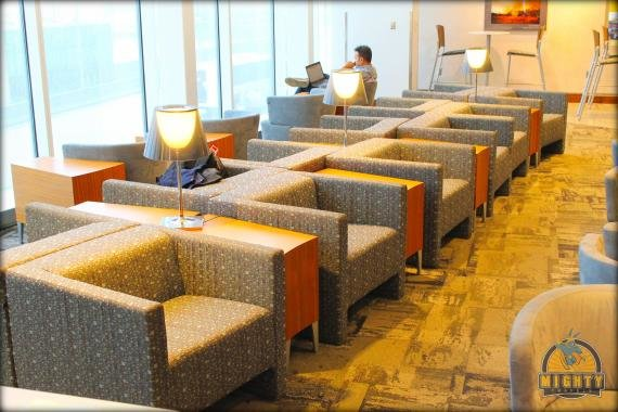 Review The Lounge Club Atlanta Airport