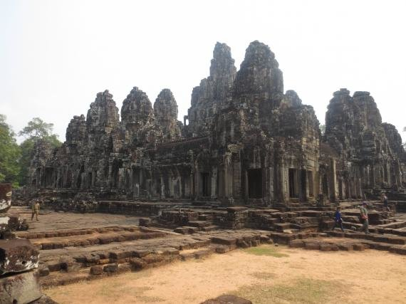 Exploring the temples at Angkor Wat