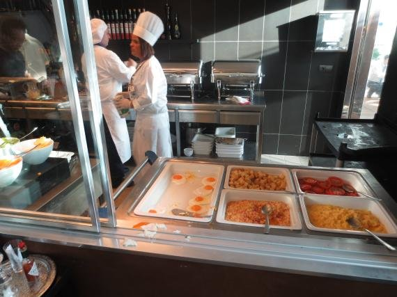 Turkish Airlines THY Lounge Istanbul Review