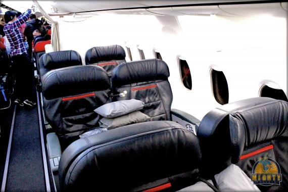 Turkish Airlines (Regional) Business Class Review Istanbul (IST) to Bishkek (FRU)
