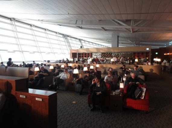 Asiana Business Class Lounge Review at Incheon Airport South Korea