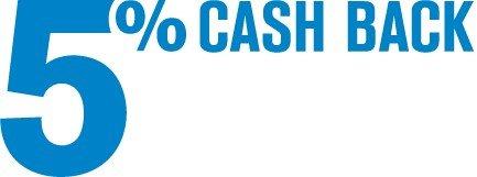 5% cash back at Lowe's restaurants