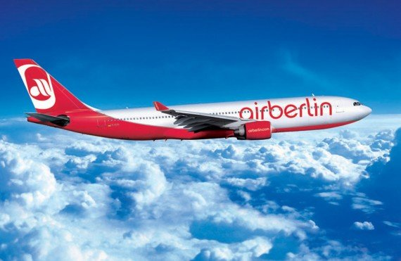 Double topbonus award miles on airberlin Business Class flights