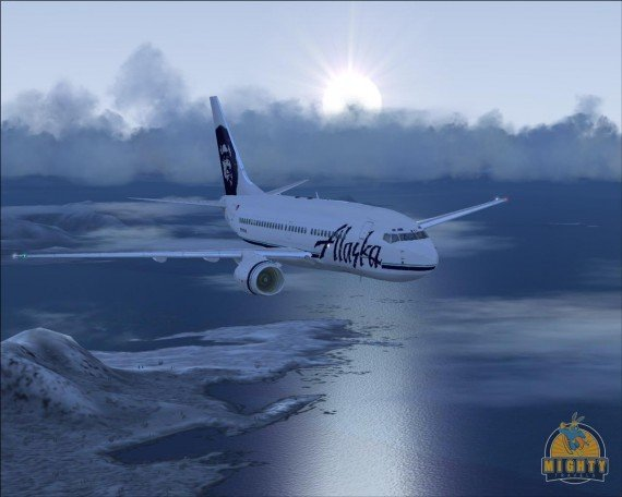 Earn Double Elite-Qualifying Miles on Alaska Airlines flight between Seattle and Detroit.