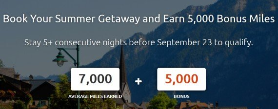 5,000 bonus miles for summer bookings at rocketmiles.com
