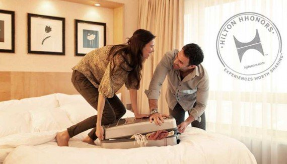 Hilton 2X Points Package Rate